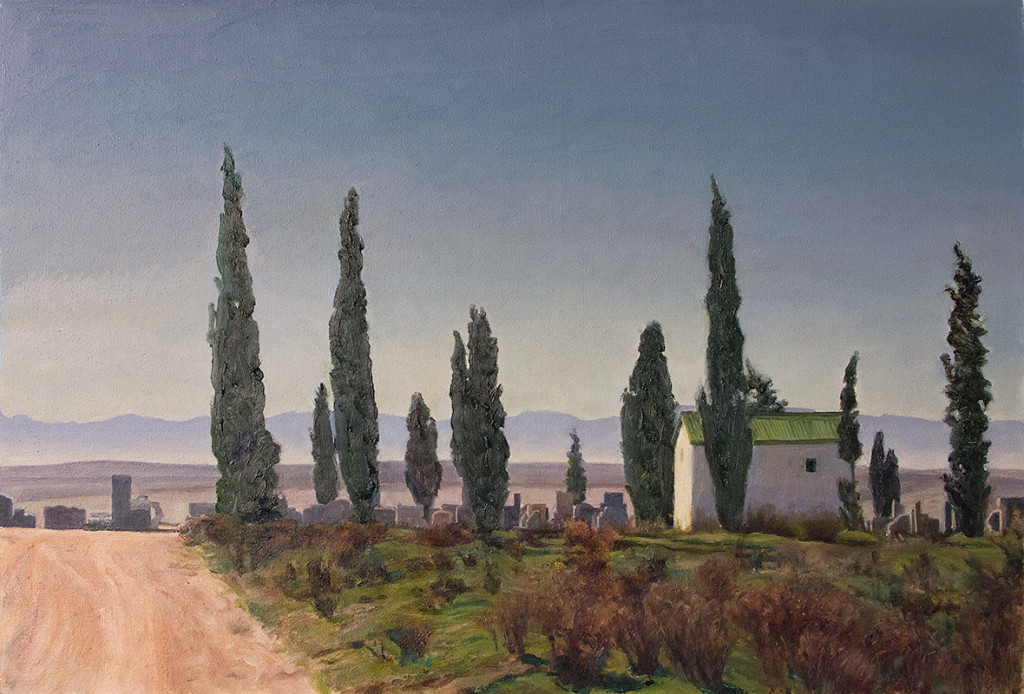 Koringberg cemetery; 2015; 305 X 450 mm; Private collection